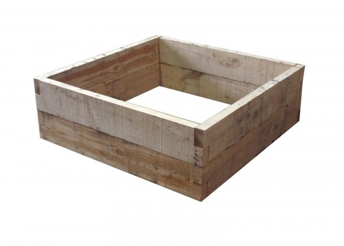 Oak raised bed – 1.2 x 1.2 x 400 x 50mm