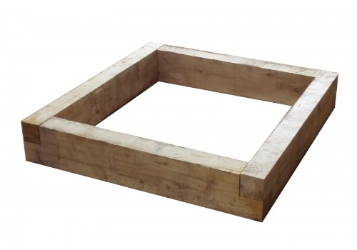 Heavy duty Oak raised bed – 1.2 x 200mm x 100mm